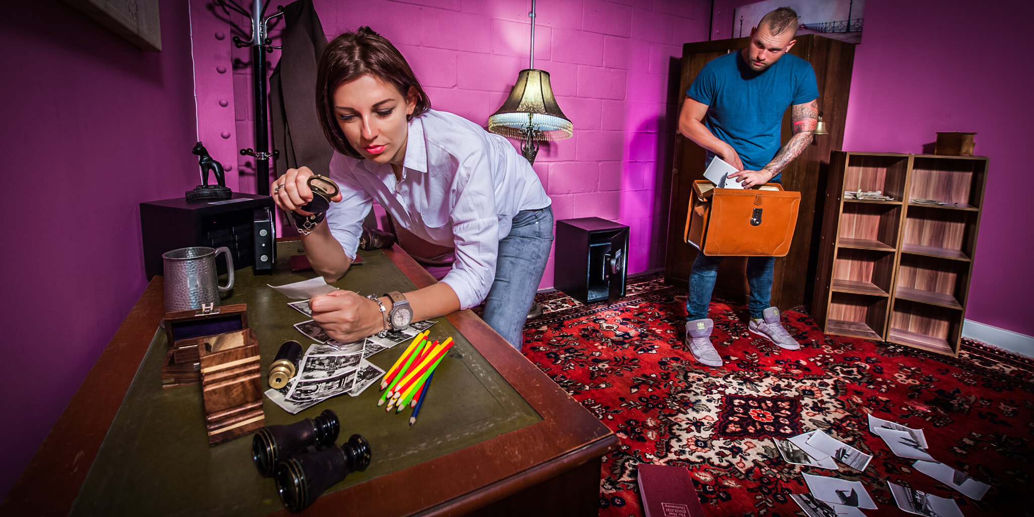 Whom Will You Choose To Play With In An Escape Room?