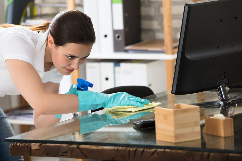 Why Should You Disinfect The Office Desks To  Improve The Work Efficiency?