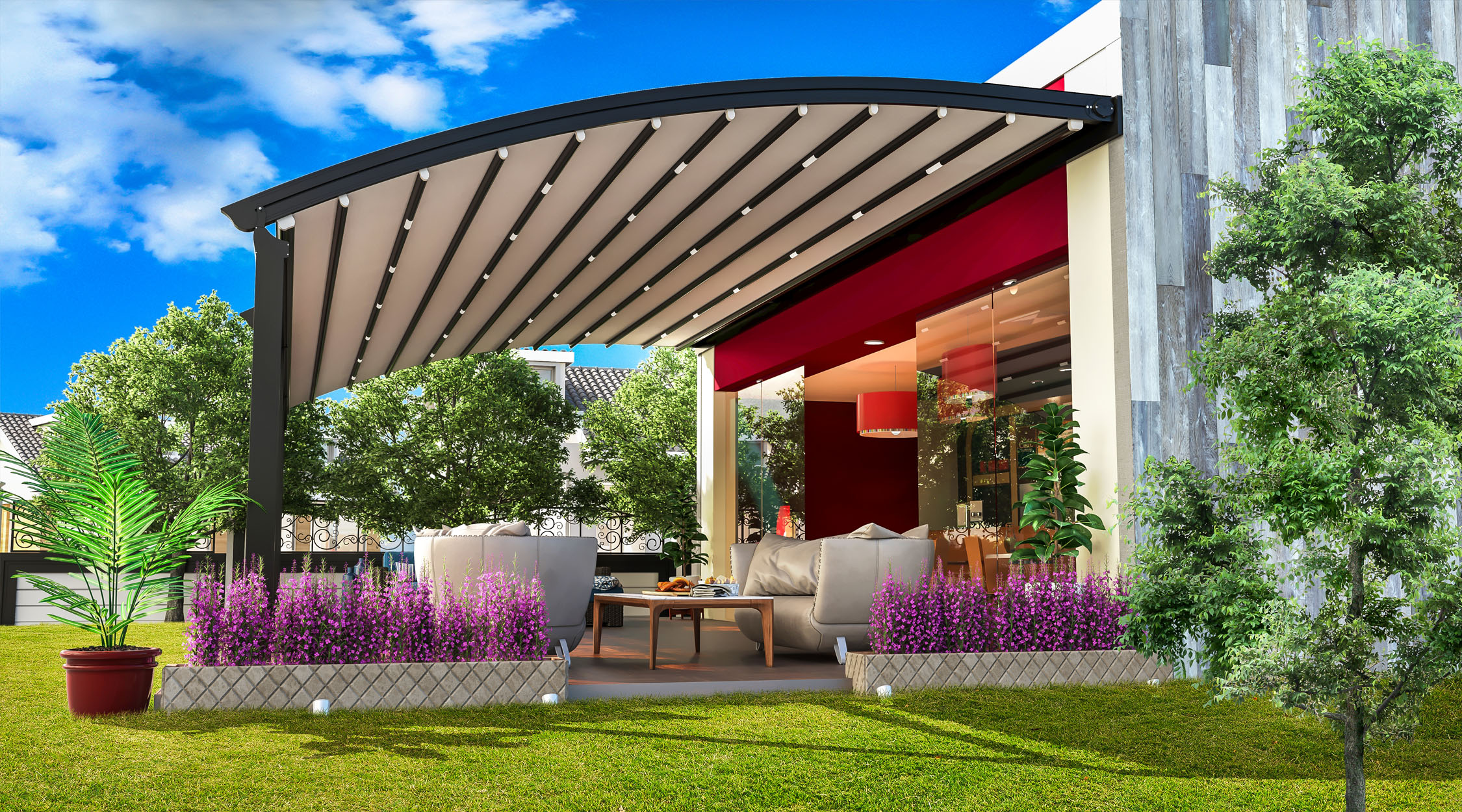 Determine the Benefits behind Installing Pergolas at the Home