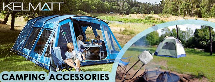 What camping accessories do I need for a trip?